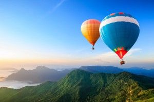 полеты на воздушном шаре