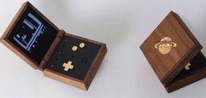 деревянная консоль
