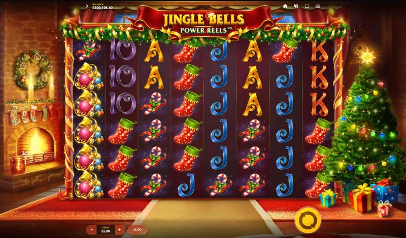 автомат Jingle Bells Power Reels