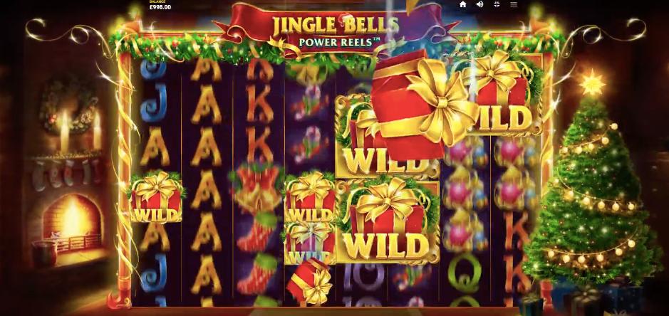 Jingle Bells Power Reels wild