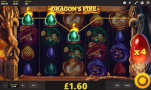 Игровой автомат Dragon's Fire: Infinireels